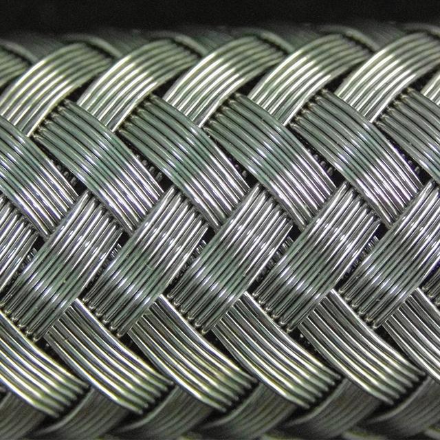 PTFE-steel-braided hose