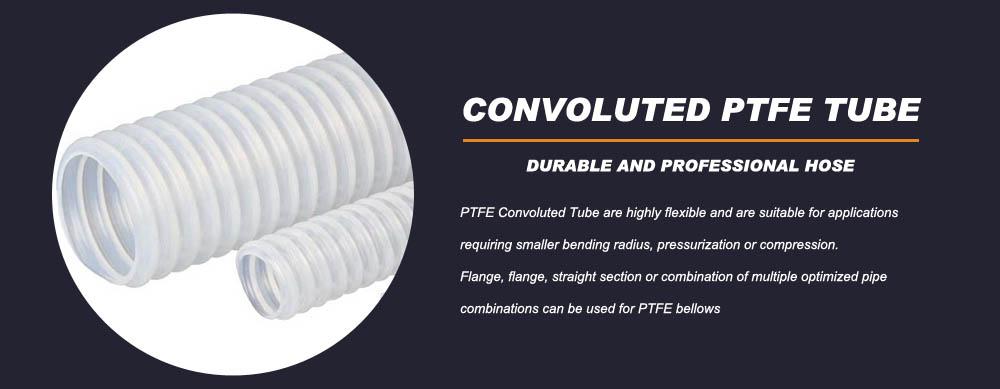 PTFE Convoluted Tube